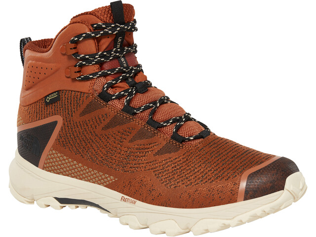 The North Face Ultra Fastpack III Mid GTX Woven Chaussures Homme, caramel cafe/tnf blck